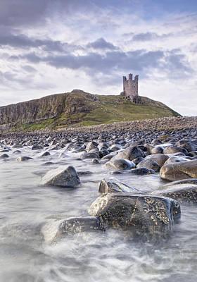 Dunstanburgh Photograph - Dunstanburgh Castle Boulders by Chris Frost