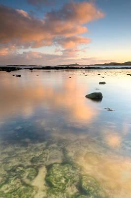 Dunstanburgh Photograph - Dunstanburgh Castle Reflections by Chris Frost