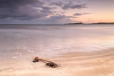 Dunstanburgh Photograph - Dunstanburgh Castle Sunset by Chris Frost
