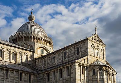 Duomo Of Pisa Print by Prints of Italy