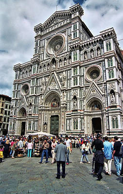 Duomo Of Florence Print by Allen Beatty