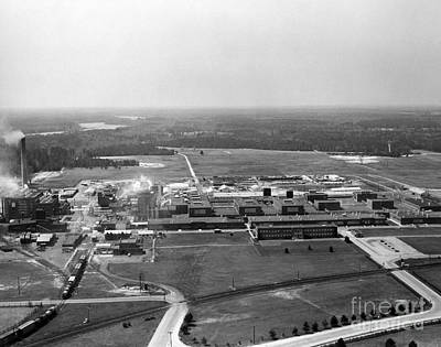 Dupont Seaford Factory Site, 1940s Print by Hagley Archive