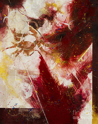 Woman Painting - Durga by Raj Maji