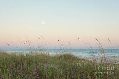 Dusk At The Beach Print by Kay Pickens