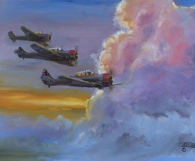 Dusk Flight Original by Christopher Jenkins