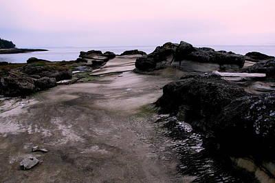 Hornby Island Photograph - Dusk On Hornby Island by Annie  DeMilo
