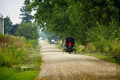 Amish Photograph - Dusty August by David Arment