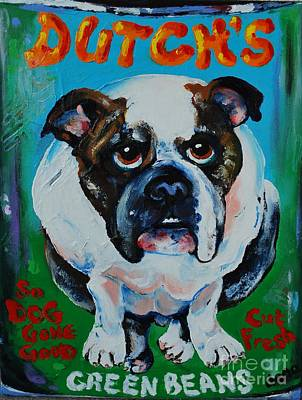 Green Beans Painting - Dutch by Dena Lowery
