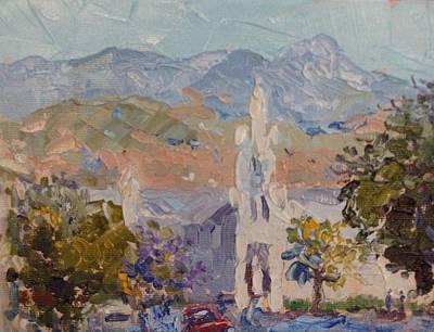 Dutch Reformed Church In Robertson Original by Elinor Fletcher