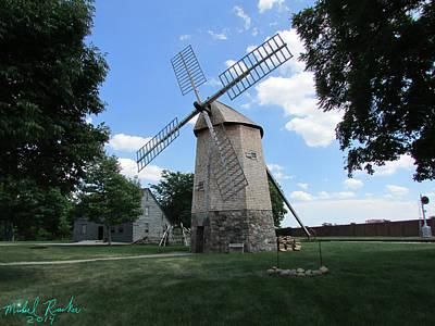 Dutch Windmill Original by Michael Rucker
