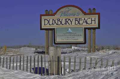 Duxbury Beach Print by Catherine Reusch  Daley