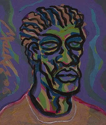 Dwayne Print by Deryl Daniel Mackie