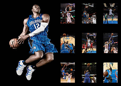 Orlando Magic Photograph - Dwight Howard by Joe Hamilton