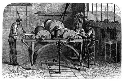Dyeing Industry Print by Science Photo Library