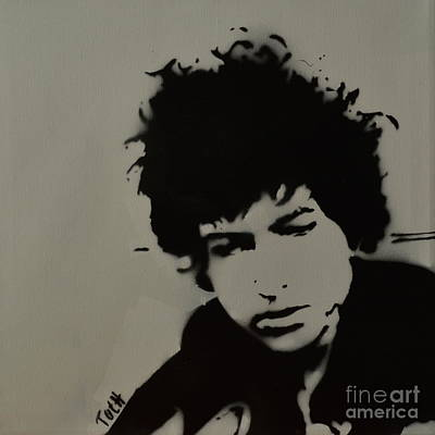 Dylan Spray Art Original by Laura Toth