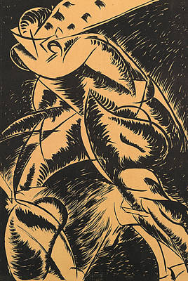 Umberto Painting - Dynamism Of A Human Body by Umberto Boccioni