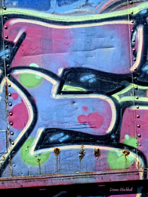 Tag Art Photograph - E Is For Equality by Donna Blackhall