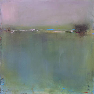Fog Painting - Each Morning She Calls by Jacquie Gouveia
