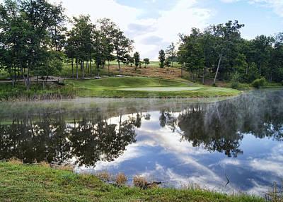 Eagle Knoll Golf Club - Hole Six Print by Cricket Hackmann