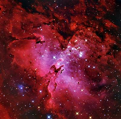 Eagle Nebula Print by Adam Block/mount Lemmon Skycenter/university Of Arizona
