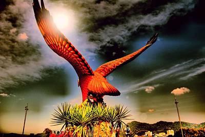 Eagle Statue. Print by Siti  Syuhada