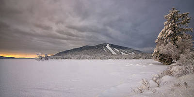 Maine Mountains Photograph - Early Dawn At Shawnee Peak by Darylann Leonard Photography