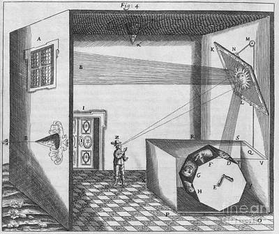 Early Form Of Magic Lantern, 17th Print by Middle Temple Library