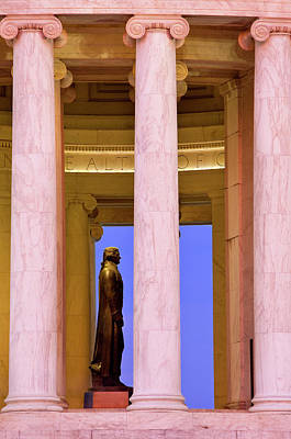 Thomas Jefferson Photograph - Early Morning At The Jefferson by Brian Jannsen