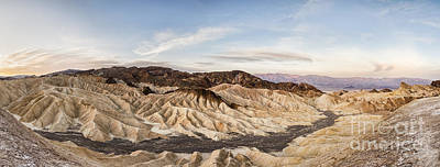 Early Morning At Zabriskie Point Print by Colin and Linda McKie