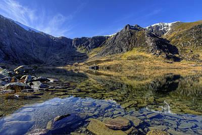 Snowdon Photograph - Early Morning Lake by Ian Mitchell
