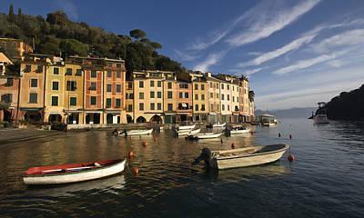 Portofino Photograph - Early Morning Portofino by Cathy Laurenzi