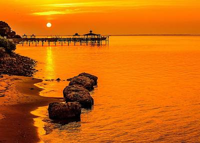 D700 Photograph - Early Morning Southport by Chris Modlin