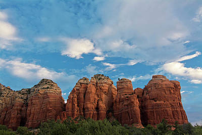 Early Morning, Teapot Trail, Coconino Print by Michel Hersen