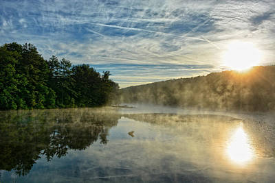 Reflection Photograph - Early Riser by Emily Stauring