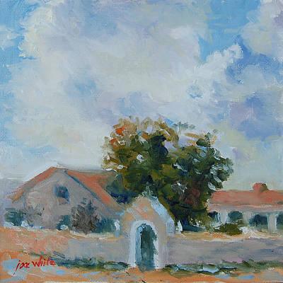 Mission San Juan Capistrano Painting - Early San Juan Capistrano Mission by Joe White