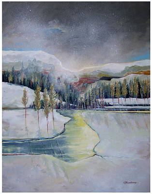 Early Snow Original by Denise Armstrong