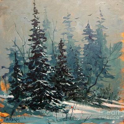 Early Snow Print by Micheal Jones