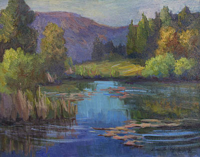 Early Spring Painting - Early Spring by Diane McClary
