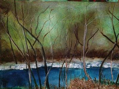 Painting - Early Spring by Giti Ala