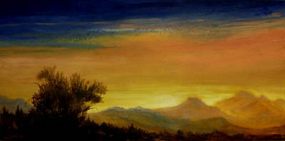 Painting - Earth Light Series Home by Len Sodenkamp