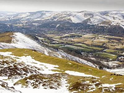 Snow Forts Photograph - Earth Ramparts Of An Ancient Hill Fort by Ashley Cooper