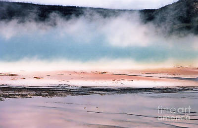 Geyser Digital Art - Earth's Monet - 6 by Linda  Parker