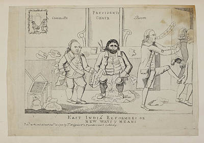 East India Photograph - East India Reformers Or New Ways And Mean by British Library