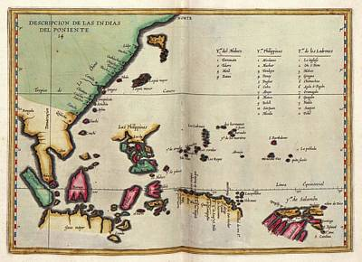 East Indies Print by Library Of Congress, Geography And Map Division