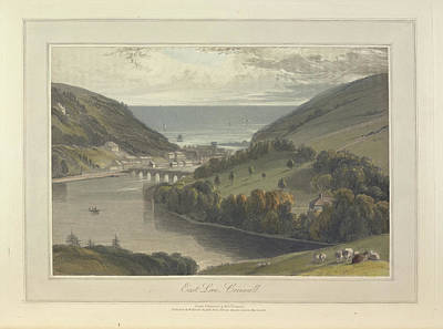 East Looe Print by British Library