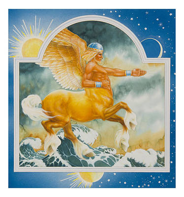 Centaur Painting - East Of The Sun West Of The Moon by Lynn Bywaters