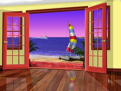Sutton Digital Art - East Point At The Bay by Patrick Belote