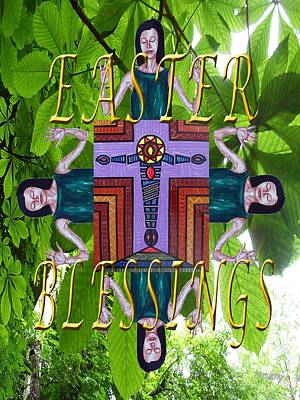 Religious Art Mixed Media - Easter 2 by Patrick J Murphy