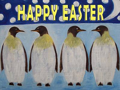 Conversation Mixed Media - Easter 22 by Patrick J Murphy