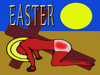 Religious Art Mixed Media - Easter 35 by Patrick J Murphy